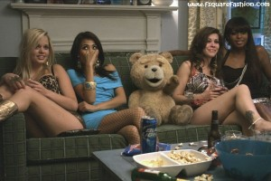 Ted Sitting with Hot Girls Ted Movie 2012