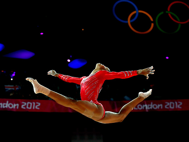 Gabby Douglas Gymnastics Pictures London Olympic 2012