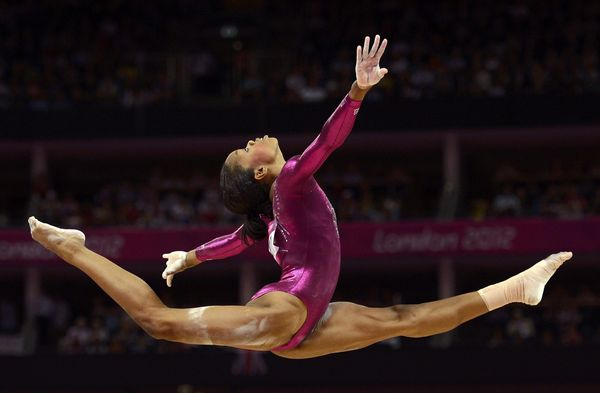 London Olympic 2012 Gabby Douglas Gymnastics Pictures