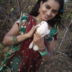 Aastha Chaudary aka Amrita in Veera Serial Wallpapers